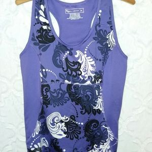 Tek-gear purple tank top